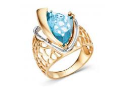 Золотое кольцо с ситалом