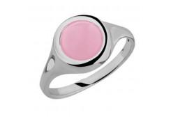 Серебряное кольцо с кошачим глазом