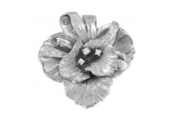 Серебряная подвеска с фианитом