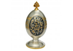 Сувенир из серебра с чернением