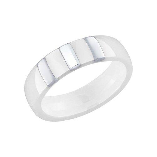 Серебряное кольцо с керамикой