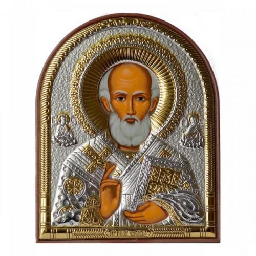 Икона Синтетический камень Малая св.Николай Чудотворец (Ярославский)
