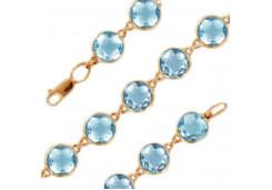 Женские браслеты с топазом 95186
