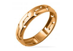 Кольца из золота, для мужчин, без вставки 131725