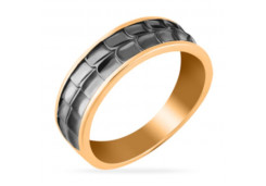 Кольца из золота, для мужчин, без вставки 131739