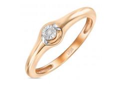 Золотые кольца с бриллиантами 126604
