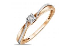 Золотые кольца с бриллиантами 126605