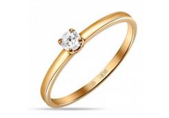 Золотые кольца с бриллиантами 126656