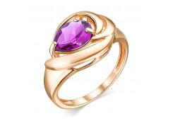 Золотые кольца с аметистом 127780