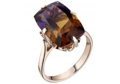 Золотые кольца с аметрином 128031