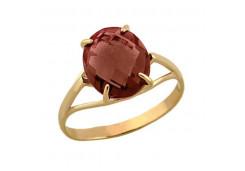 Золотое кольцо с султанитом