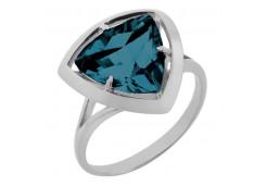 Серебряное кольцо с ситалом