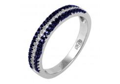 Кольца из серебра, вставка корунд 99850