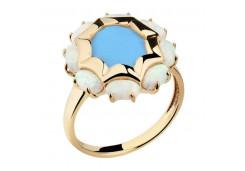 Серебряное кольцо с бирюзой