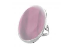 Кольцо из серебра 925 пробы с кварцем