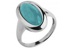 Серебряное кольцо с амазонитом