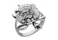 Кольца из серебра, вставка сваровски кристалл 132675