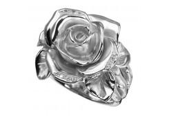 Кольца из серебра, вставка сваровски кристалл 110334