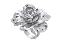 Кольца из серебра, вставка сваровски кристалл 110321