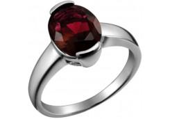 Женские кольца из серебра с цветными фианитами 129710