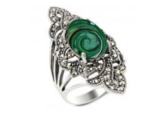 Серебряное кольцо с абалоном