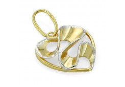 Подвеска из желтого золота 585 пробы