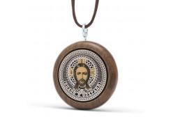 Подвеска - Синтетический камень Святые Иисус Христос