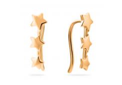 Золотые cерьги классические