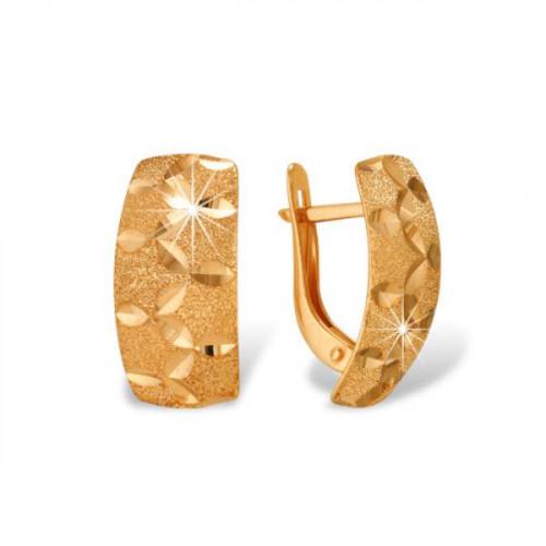 Золотые cерьги
