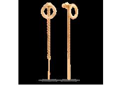 Золотые cерьги пусеты (гвоздики)