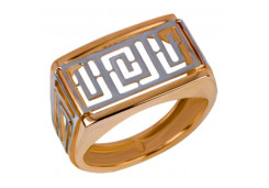 Кольца из золота, для мужчин, без вставки 24232