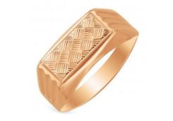 Кольца из золота, для мужчин, без вставки 116086