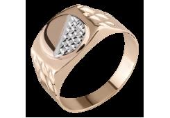 Кольца из золота, для мужчин, без вставки 128663