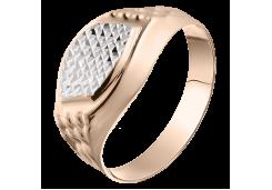Кольца из золота, для мужчин, без вставки 128665