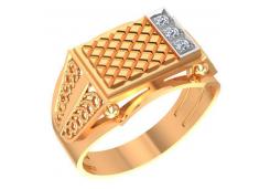 Мужские кольца из золота с бриллиантами 58624