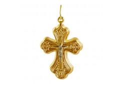 Крест из желтого золота