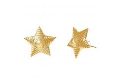 Звезда для погон из золота