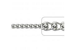 Женские серебряные браслеты на ногу 132061