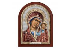 Икона Синтетический камень Малая БМ Казанская