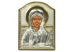 Икона Синтетический камень Малая св.Матрона Московская