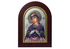 Икона Синтетический камень Малая БМ Семистрельная