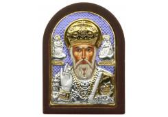 Икона Синтетический камень Малая св.Николай Чудотворец