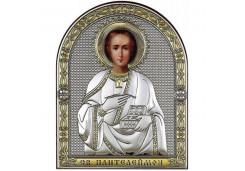 Икона Синтетический камень Малая св.Пантелеймон