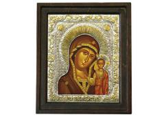 Икона Синтетический камень Средняя БМ Казанская