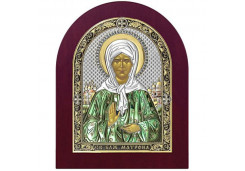 Икона Синтетический камень Средняя св.Матрона Московская