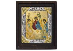 Икона Синтетический камень Средняя св.Троица