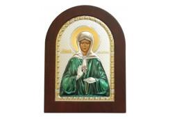 Икона Синтетический камень Большая св.Матрона Московская
