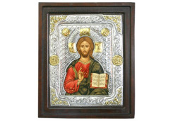 Икона Синтетический камень Большая Иисус Христос