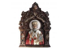 Икона Синтетический камень Большая св.Николай Чудотворец