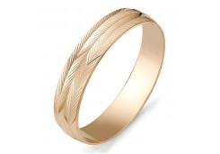 Кольца из золота, без вставки, унисекс 117728